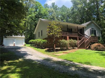 Amelia County Single Family Home For Sale: 10901 Redfield Drive