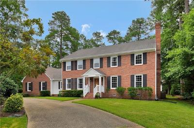 Henrico Single Family Home For Sale: 10809 Weather Vane Road