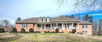 Amelia County Single Family Home For Sale: 11600 Sweathouse Creek Ln Lane