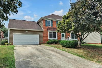 Colonial Heights VA Single Family Home For Sale: $267,500