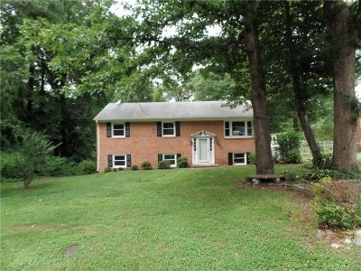 North Chesterfield VA Single Family Home Sold: $166,098