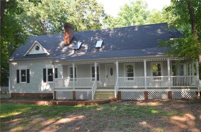 Chesterfield Single Family Home For Sale: 9607 Dry Creek Road