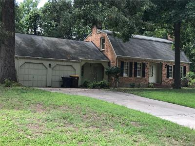 Petersburg Single Family Home For Sale: 3324 Seaton Road