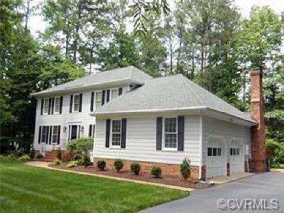 Henrico Single Family Home For Sale: 9608 Carterwood Road
