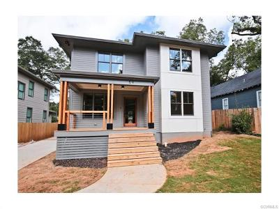 Richmond Single Family Home For Sale: 2800 Montrose Avenue