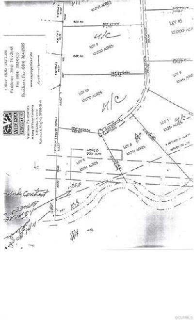 Hanover County Residential Lots & Land For Sale: 11136 Broken Bit Lane