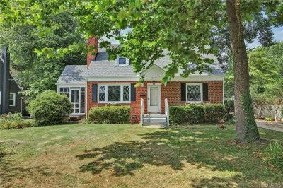 Henrico County Single Family Home For Sale: 6613 Monument Avenue