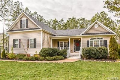 New Kent County Single Family Home For Sale: 3694 Virginia Rail Drive