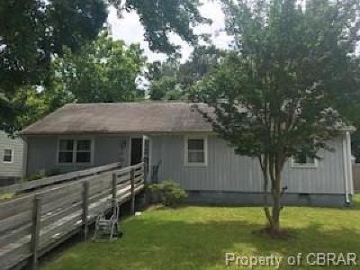 Hampton Single Family Home For Sale: 129 Winchester Drive