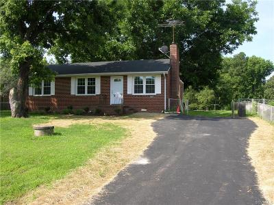 Dinwiddie County Single Family Home For Sale: 4206 Henshaw Drive