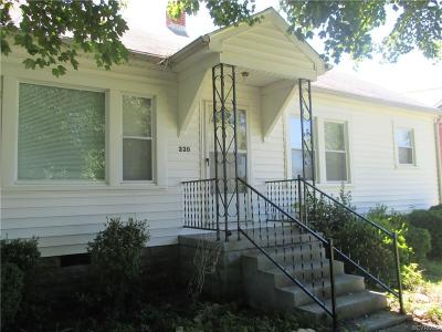Nottoway County Single Family Home For Sale: 220 Simmons Street