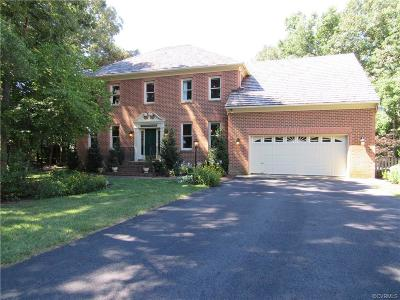 Henrico County Single Family Home For Sale: 13628 Swanhollow Drive