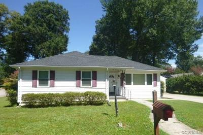 Hopewell Single Family Home For Sale: 203 North Radford Drive