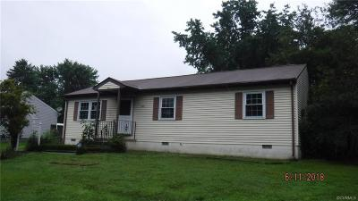 Hopewell Single Family Home For Sale: 705 Cabin Creek Drive