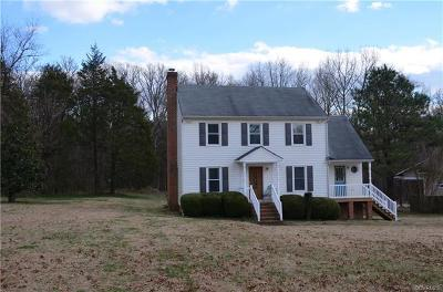 Powhatan County Single Family Home For Sale: 1339 Avatar Drive