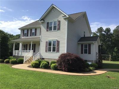 Powhatan County Single Family Home For Sale: 2750 Rocky Oak Road