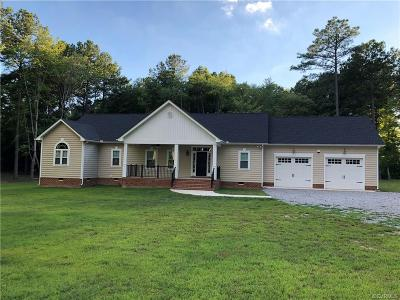Nottoway County Single Family Home For Sale: 461 Yellow Bird Road
