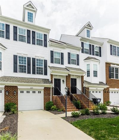 Hanover County Condo/Townhouse For Sale: 10254 Ibis Drive