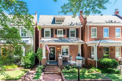 Richmond Single Family Home For Sale: 3302 West Franklin Street
