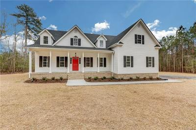 Dinwiddie County Single Family Home For Sale: Tbd Waterford Terrace