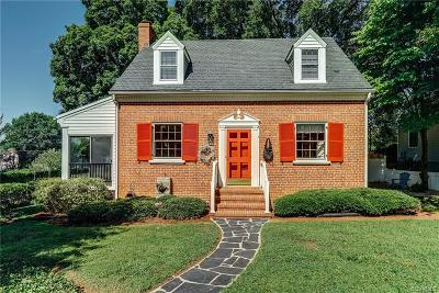 Henrico Single Family Home For Sale: 7500 Wentworth Avenue