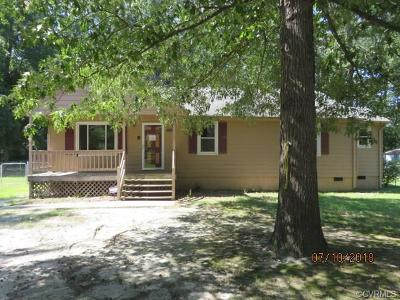 Dinwiddie County Single Family Home For Sale: 24108 Bancroft Drive