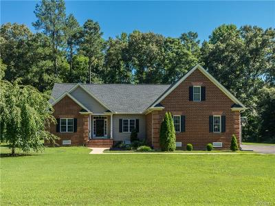 Hanover County Single Family Home For Sale: 5060 Lovings Trail