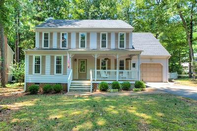 Midlothian Single Family Home For Sale: 14700 Duck Cove Place