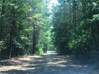Dinwiddie County Residential Lots & Land For Sale: 12012 Spiceley Road
