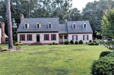 Williamsburg Single Family Home For Sale: 2032 Back River Lane
