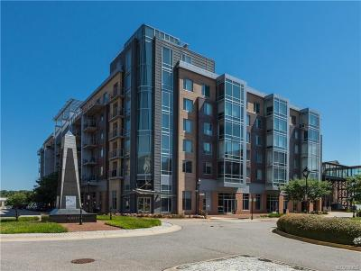 Henrico County Condo/Townhouse For Sale: 210 Rocketts Way #403