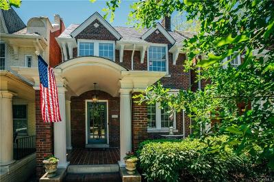 Richmond Single Family Home For Sale: 3223 Monument Avenue