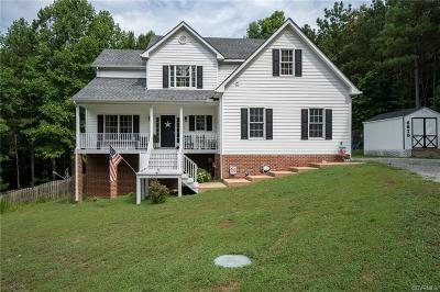 King William County Single Family Home For Sale: 6673 Acquinton Church Road