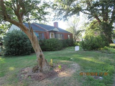 Hopewell Single Family Home For Sale: 310 Stonewall Avenue