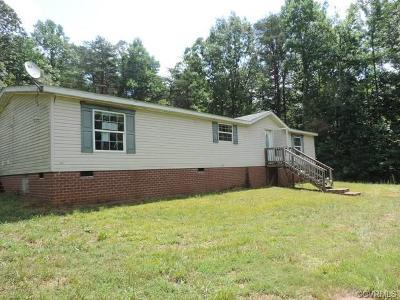 Amelia County Single Family Home For Sale: 10201 Amelia Springs Road
