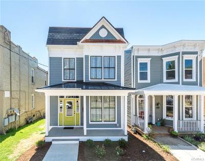 Richmond Single Family Home For Sale: 611 North 32nd Street