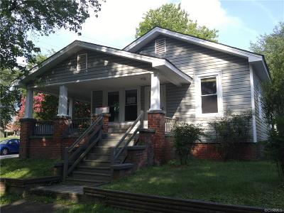 Hopewell Single Family Home For Sale: 212 North 20th Avenue