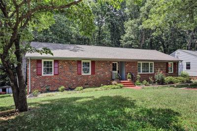 Midlothian Single Family Home For Sale: 2250 Greenfield Drive