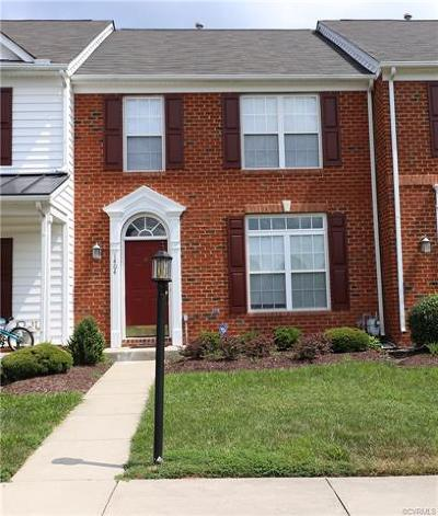 Henrico County Rental For Rent: 1404 New Haven Court