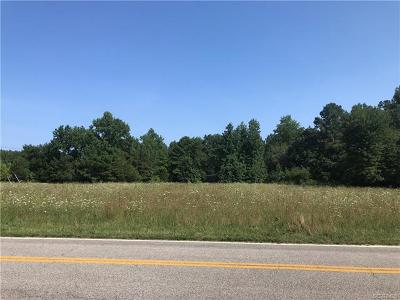 Chesterfield County Residential Lots & Land For Sale: 9801 Cattail Road