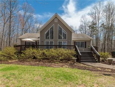 Powhatan County Single Family Home For Sale: 3616 Trenholm Road