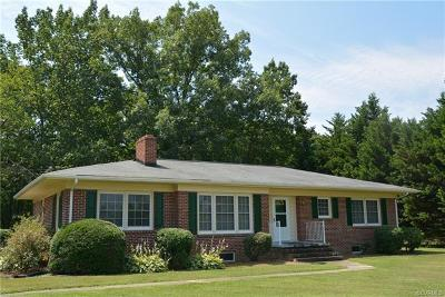 Farmville Single Family Home For Sale: 36 John Randolph Rd