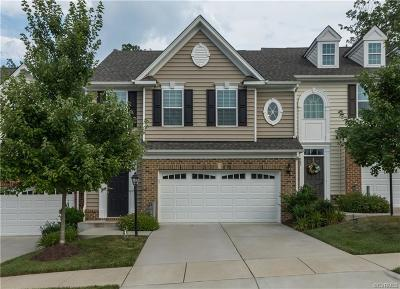 Chesterfield County Condo/Townhouse For Sale: 309 Creekwillow Drive
