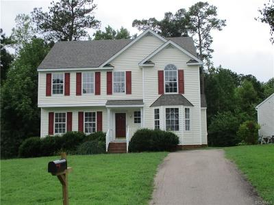 Henrico Single Family Home For Sale: 3929 Trickling Brook Drive