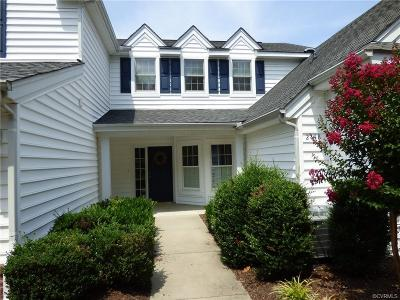 Chesterfield County Condo/Townhouse For Sale: 2148 Magnolia Grove Way #2148