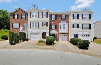 Chesterfield County Condo/Townhouse For Sale: 13530 Ridgemoor Drive