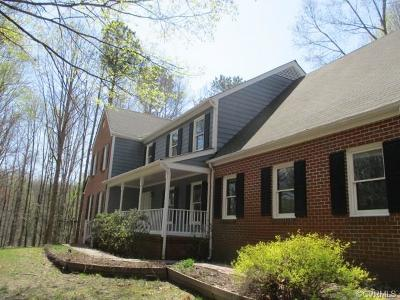 Hanover County Single Family Home For Sale: 12601 Patrick Henry Road