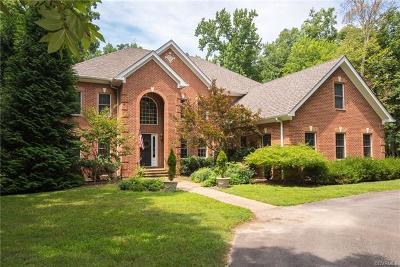 Chesterfield County Single Family Home For Sale: 2940 Mount Hill Drive