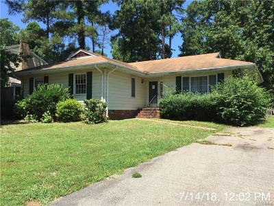 Chesterfield Single Family Home For Sale: 4004 Falconway Lane