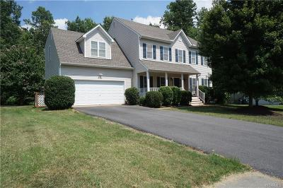 Chesterfield Single Family Home For Sale: 9113 Mahogany Drive